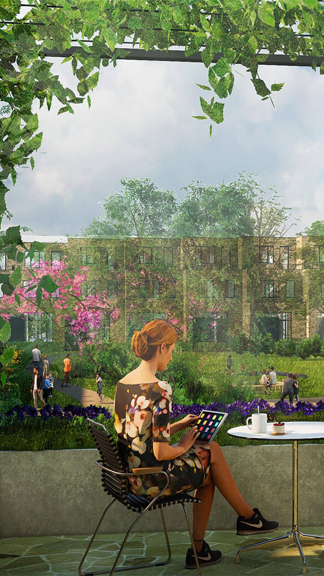 Nieuwbouw - Project - Tuinen van Genta - Project Binnenplaats