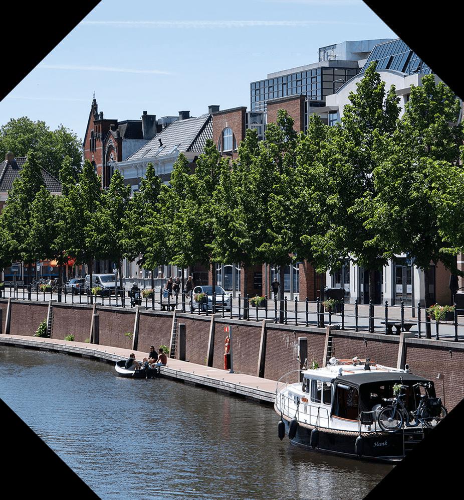 Nieuwbouw Tuinen van Genta - Persona - Joan Copijn - stadsgrachten